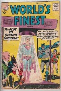 World's Finest #104 (Sep-59) GD Affordable-Grade Superman, Batman, Robin