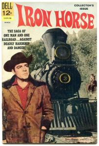 Iron Horse #1 1967- Dell Western- Dale Robertson FN