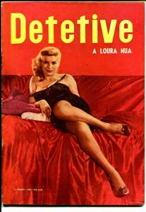 Detective 3/1959-crime pix-photo cover-published in Brazil-VG+