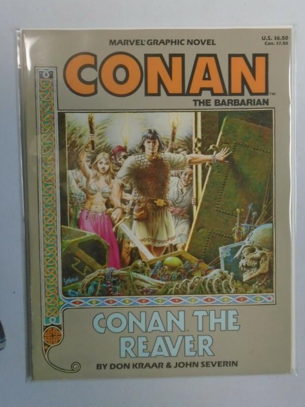 Conan The Reaver GN (1987 Marvel) 6.0 FN (1st Print)
