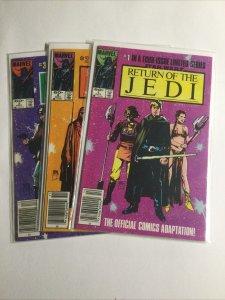 Return of The Jedi Star Wars Near mint- Nm- 9.2 Newsstand Marvel