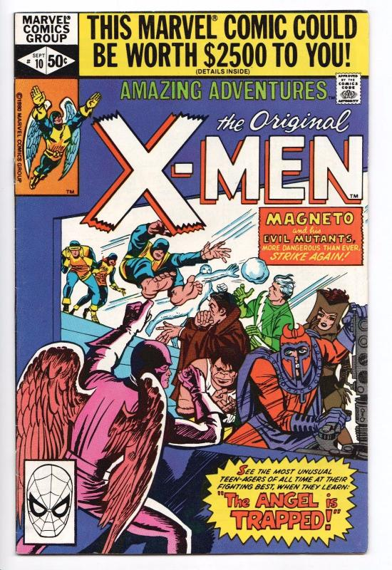 Amazing Adventures #10 ft The X-Men - Trapped: One X-Man! (Marvel, 1980) - VF