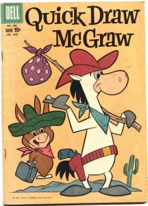 QUICK DRAW McGRAW-DELL FOUR COLOR #1040-HANNA BARBERA-1960-FIRST ISSUE