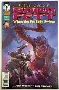BOBA FETT#2 NM 1996 'WHEN THE FAT LADY SINGS' STAR WARS DARK HORSE COMICS