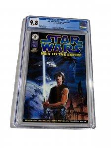 Star Wars Heir To The Empire 1 Cgc 9.8 1st Mara Jade Admiral Thrawn Dark Horse