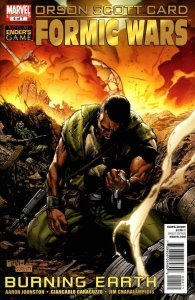 Formic Wars: Burning Earth #4 VF; Marvel | save on shipping - details inside