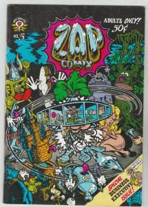 Zap #5 (Jan-73) VF High-Grade Star Eyed Stella, The Checkered Demon, Mr.Natural
