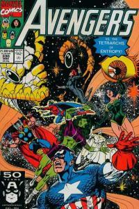 Avengers (1963 series) #330, NM- (Stock photo)