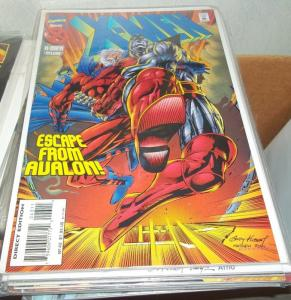 X MEN # 43  1995 MARVEL   magneto colossus  escape from avalon acolytes MUTANT