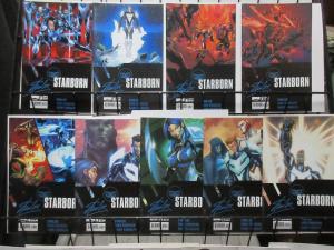 Starborn (Boom 2010) Lot of 9Diff C Stan Lee Chris Roberson Khary Randolph