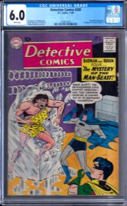 Detective Comics #285 CGC 6.0 BATWOMAN APP