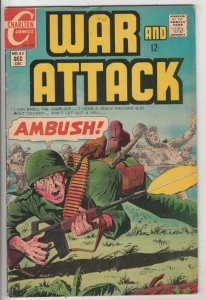 War and Attack #63 (Dec-67) VF High-Grade