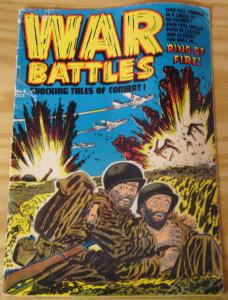 War Battles #8 GD/VG october 1952 - golden age family comics - lee elias cover