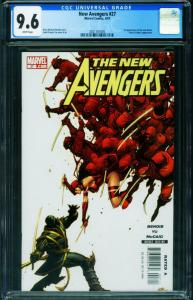 New Avengers #27 CGC 9.6-1st appearance RONIN 2021161005