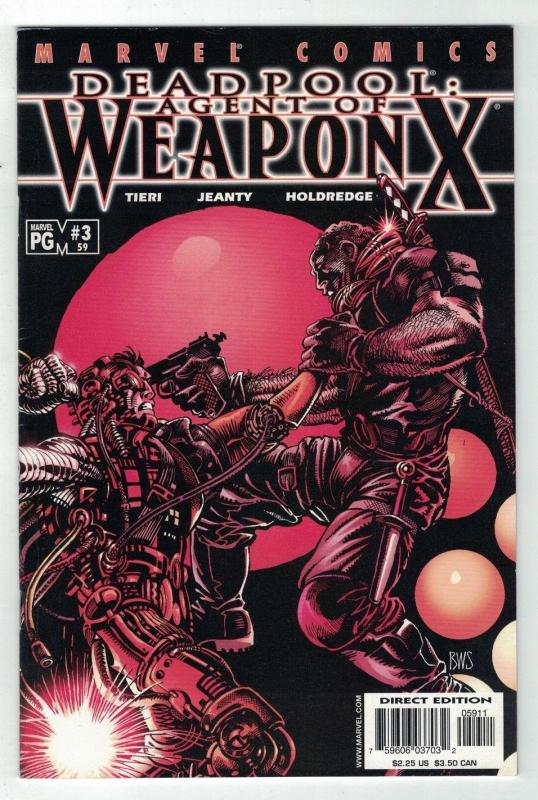 DEADPOOL (1997) 59 VF  Agent Of Weapon X