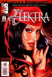 Elektra (2001 series) #6, NM (Stock photo)