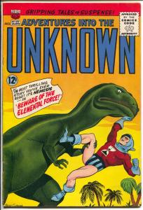 Adventures Into The Unknown #155 1965-ACG-Nemesis-Peter Costanza-FN/VF