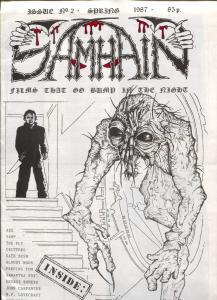 Samhain Fanzine #2 1987-Lovecraft- Kate Bush- John Carpenter