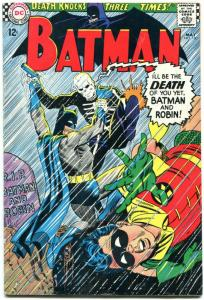 Batman #180-1966-DC Silver Age - Death issue! Cool!!! FN