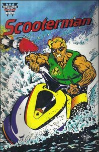 Scooterman #3 VF/NM; Wellzee | save on shipping - details inside