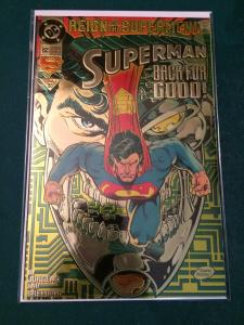 Superman #82 Reign of the Supermen! Reflective/ metallic cover
