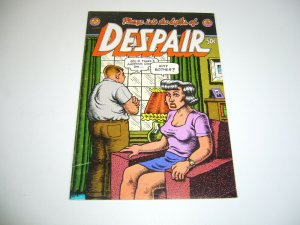 Despair #1 (2nd) print - robert crumb - underground comix - print mint