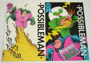 Possibleman #1-2 FN/VF complete series - william van horn - blackthorne comics