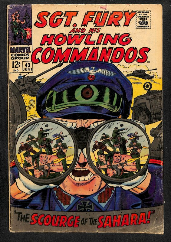 Sgt. Fury #43 (1967)