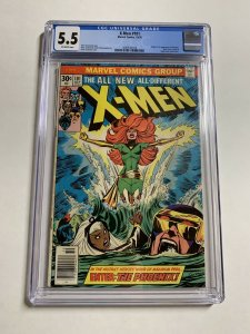 X-men 101 Cgc 5.5 Ow Pages 1st Phoenix Marvel Bronze Age