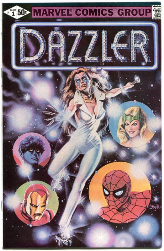 DAZZLER #1 2 3 4, VF/NM, Dr Doom, X-Men, 4 issues, 1981, more Marvel in store