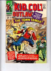 Kid Colt Outlaw #131 (Nov-66) VF High-Grade Kid Colt