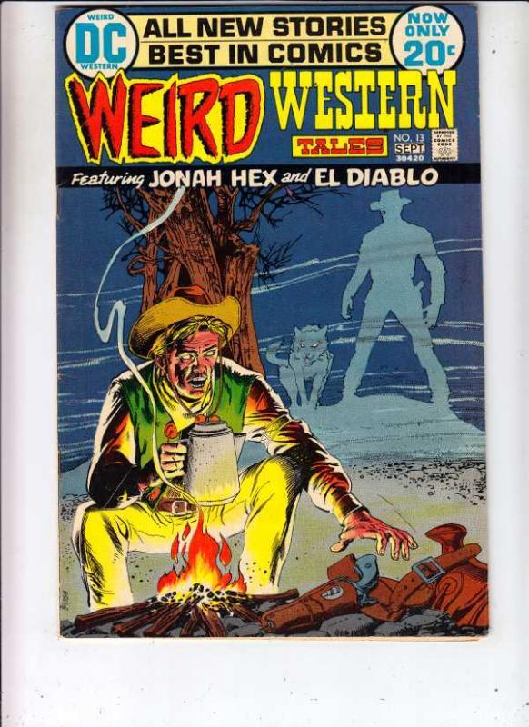 Weird Western Tales #13 (Aug-72) VF High-Grade Jonah Hex