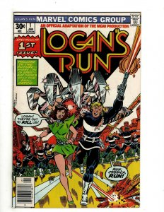 8 Marvel Comics Logan's Run # 1 2 3 4 5 Web of Spider-Man 30 Two-in-One + J461