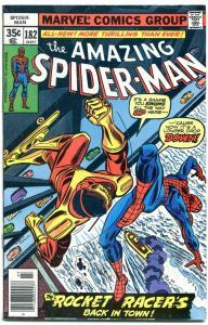 AMAZING SPIDER-MAN #182-1978-MARVEL-SPIDEY- rocket racer-fine +