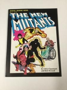 Marvel Graphic Novel 4 Vf+ Very Fine+ 8.5 First Appearance Of The New Mutants