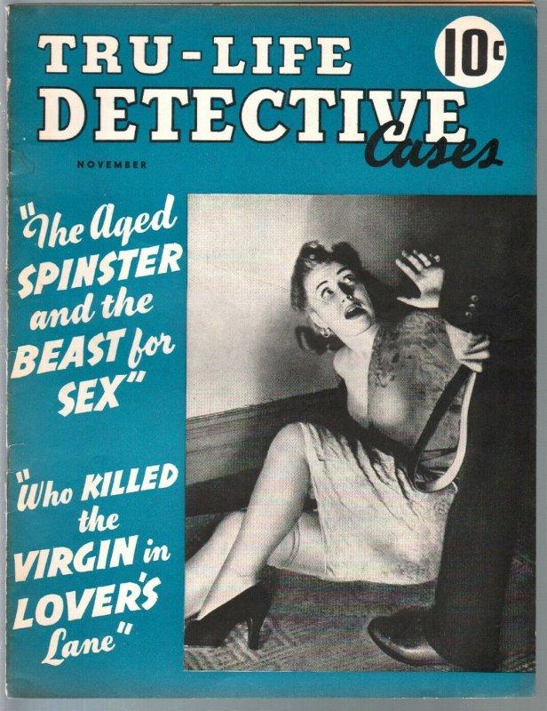 Tru-Life #2 11/1941-white slavery-Fiesta Of Death-pulp thrills-horror-G/VG