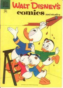 WALT DISNEYS COMICS & STORIES 212 VF  May 1958 COMICS BOOK