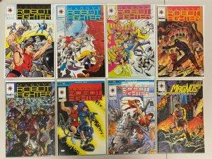 Magnus Robot Fighter Valiant Comic Lot #9-62 49 Diff Books 8.5 VF+ (1992-1996)