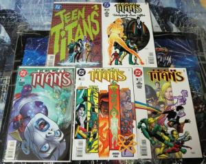 TEEN TITANS (1996) 1-5 Titans Children,Coming Out