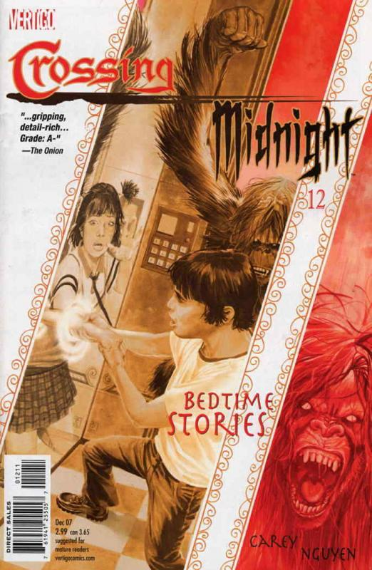 Crossing Midnight #12 VF/NM; DC/Vertigo | save on shipping - details inside