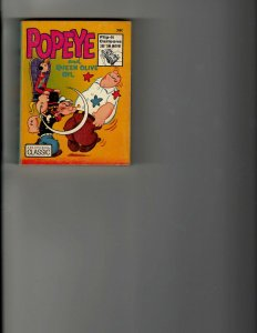 3 Books Popeye and Queen Olive Oil The Lone Ranger Bugs Bunny Crusader JK10
