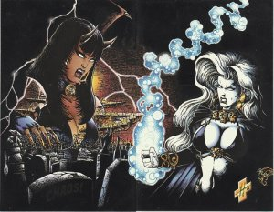 Lady Death II– Between Heaven and Hell #1,– The Odyssey # 1