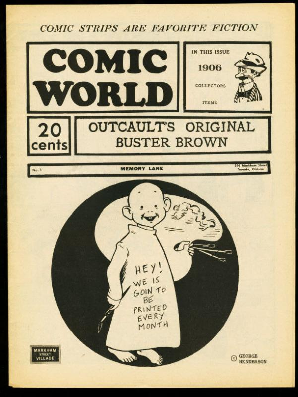 CAPTAIN GEORGES COMIC WORLD-REPRINTS-#1-BUSTER BROWN FN