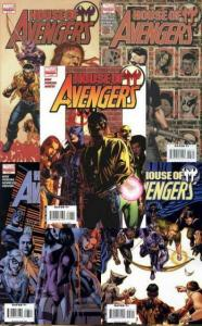 HOUSE OF M AVENGERS (2008) 1-5  Complete!