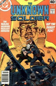 Unknown Soldier (1977 series) #229, VF+ (Stock photo)