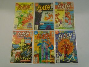 Flash comic lot 16 different from #303-346 avg 6.0 FN (1981-85 1st Series)