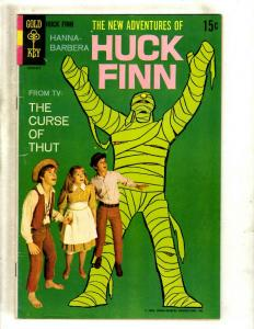 The New Adventures Of Huck Finn Hanna Barbera Gold Key Comic Book # 1 FN J371