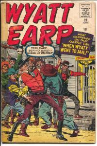 Wyatt Earp #29 1960-Atlas-Jack Kirby-pin-up-G