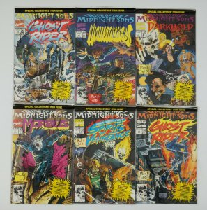 Rise of the Midnight Sons #1-6 VF/NM complete story - in polybags with posters