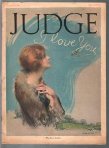 Judge 1/13/1923-early comic art-John Held Jr-FN+